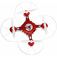 SBEGO 124 Four Axis Aircraft Pocket Drone Mini Remote Control 360 Degree Flip Quadcopter/Great Gift for Kids (Red)