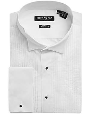 Men's Wingtip Collar French Cuff Tuxedo Shirt