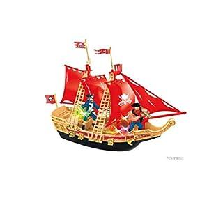TOYJITSU B/O Pirate Ship Play Set W/Light & Sound