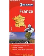Michelin France Map 721