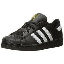 adidas Originals Kids' Superstar Foundation EL C Sneaker