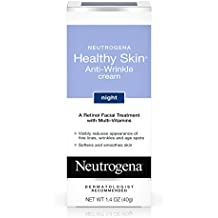 Neutrogena Healthy Skin Anti-Wrinkle Cream Night With Retinol, 1.4 Oz.