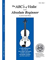 The ABCs of Violin for the Absolute Beginner, Book 1 (Book & CD)