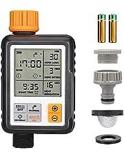 """Johgee Irrigatie Automatische Irrigatiesystemen, Waterdicht Geschikt voor Buiten, Multifunctioneel, 3""""LCD-scherm, 2 AA-batterijen"""