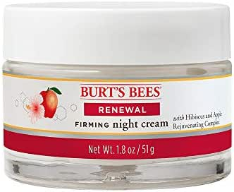 Burt's Bees Renewal Night Cream, Firming Night Cream, 1.8 Ounces