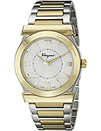 Men's FI0970014 Vega Stainless Steel and Gold Ion-Plated Watch