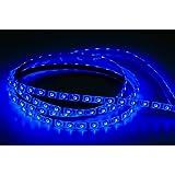 Susay® Waterproof Blue LED 3528 SMD 300LED 5M 16.4Feet Flexible Light Strip 12V 2A 24W 60LED/M