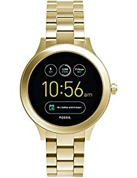 Q Women's Gen 3 Venture Stainless Steel Smartwatch, Color: Gold-Tone (Model: FTW6006)