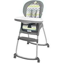 Ingenuity Trio 3-in-1 Ridgedale High Chair, Grey