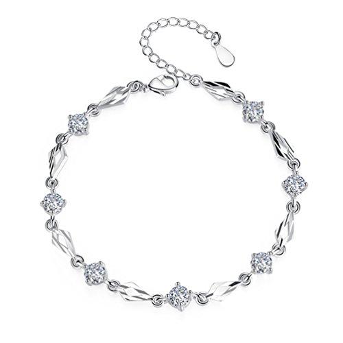 6fd29272e10e 80% OFF Esposas HL pulsera de plata esterlina versión japonesa y coreana  femenina de la ...