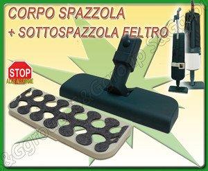 Acquisto SPAZZOLA COMPLETA FELTRO PARQUET PER FOLLETTO VK 120 121 122 Prezzo offerta