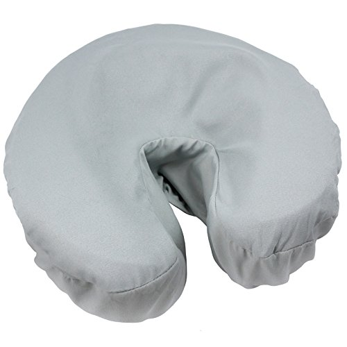 Tranquility Microfiber Massage Face Rest Covers 50 pack - Mirage Gray by Body Linen