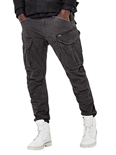 G-Star Raw Men's Rovic Zip 3D Tapered, Raven, 31x30
