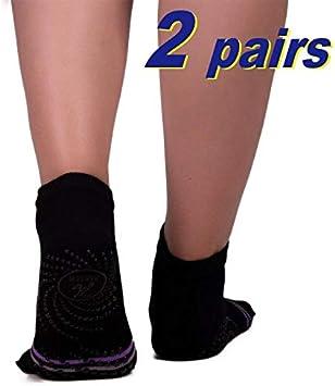 Amazon.com: Kagigi - Calcetines de yoga antideslizantes para ...