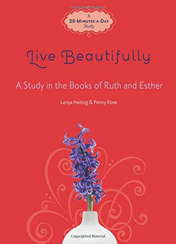 Live Beautifully Study Books Esther product image