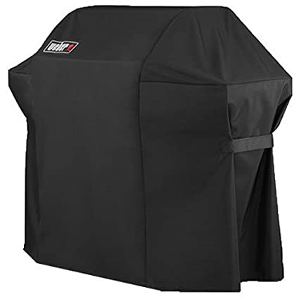 Amazon Weber 7107 Grill Cover 44in X 60in With Storage Bag For Genesis Gas Grills Garden Outdoor