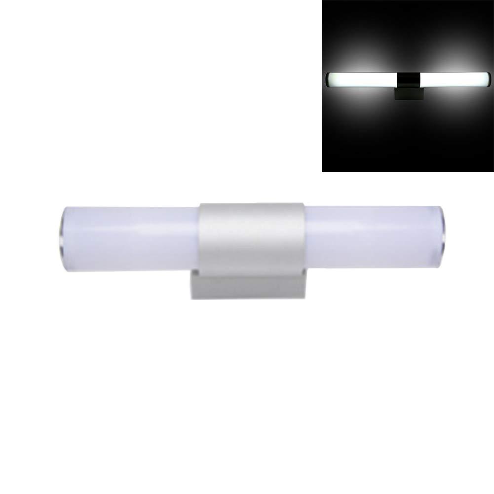 Luz frontal con espejo LED de 12/16/22 W, luz de maquillaje portá til para bañ o o bañ o, luz de espejo de pared para gabinete, 220.0V luz de maquillaje portátil para baño o baño ZAK168