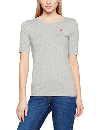 Marc O'Polo, Camiseta de Manga Larga para Mujer Grau (summer grey 934)