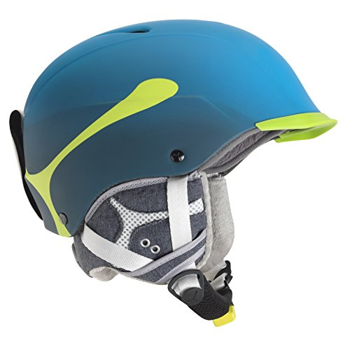 CEBE CONTEST VISOR PRO SKI HELMET (CYAN SIZE - Cebe Ski Helmets