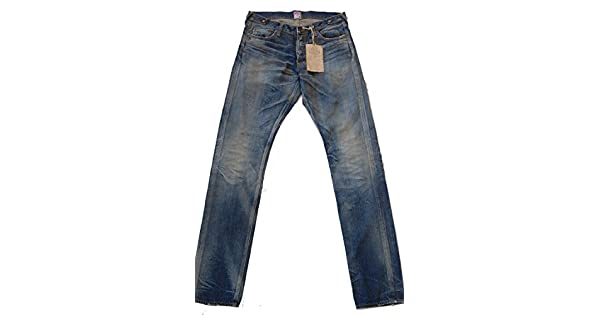 Amazon.com: PRPS Japón Denim clásico Jeans p69p42r W32: Clothing