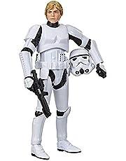 Star Wars Vintage-kollektionen Luke Skywalker (stormtrooper) leksak, 9,5 cm – skala Star Wars: En actionfigur med nytt hopp och äldre