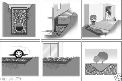 Top 125g/m² Drainagevlies Filtervlies Endlosfaservlies Spinnfaservlies RK61