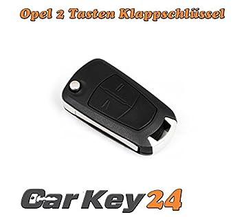2 pieza Opel Llave llaves 2 botones Carcasa para Opel Corsa ...