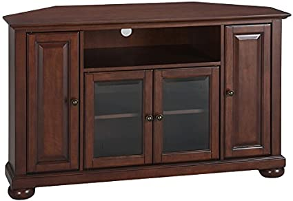 antique mahogany large home office unit. Crosley Furniture Alexandria 48-inch Corner TV Stand - Vintage Mahogany Antique Large Home Office Unit F
