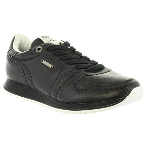 Deporte Pls30724 Pepe 999 Gable Jeans Black Zapatillas Mujer De PwBg1qwS