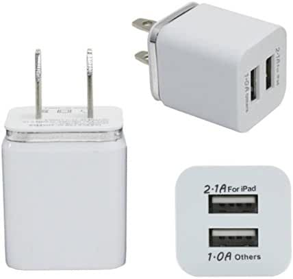 Mchoice Home Travel Dual Port AC USB Wall Charger