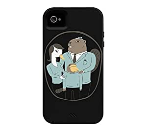 Family Portrait iPhone 4/4s Black Tough Phone Case - Design By Humans by ruishername