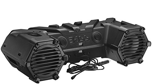 BOSS Audio ATVB95LED Bluetooth, Amplified,  ATV/UTV Sound Sy