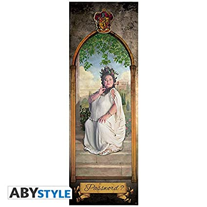 amazon com harry potter door poster the fat lady 53x158 cm