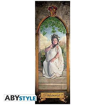 ABYstyle – Harry Potter – Póster de Puerta – Gruesa Dama (53 x 158)