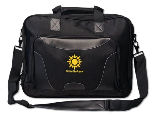 SolarGoPack, solar powered Professional Briefcase, has a ...