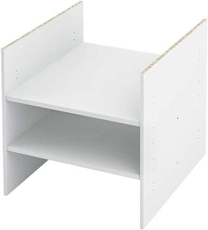 INWONA Ikea Kallax - Estantería con compartimento intermedio (1-4 estantes, 2-5 compartimentos con 2 estantes)