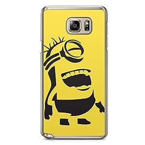 Minion Samsung Galaxy Note 5 Transparent Edge Case - B