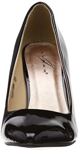 Lunar Hollis/FLH115 - zapatos de vestir de sintético mujer Black