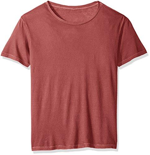 - Alternative Men's Cotton Jersey Heritage Tee, Red Pigment XL