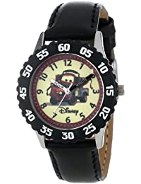 Kids' W000087 Cars Stainless Steel Time Teacher Watch