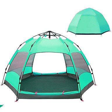 FHGJ 5-7 Personen Zelt Doppel Camping Zelt Outdoor Automatische Zelt Feuchtigkeit/Feuchtigkeit Durchlässigkeit Wasserdicht Regen-Proof