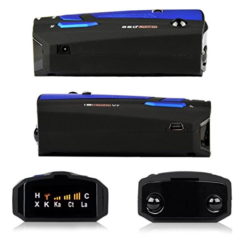 Lazaga Radar Detector,Radar Detector with Voice Alert and Car Speed Alarm System with 360 Degree Detection by Lazaga (Image #1)