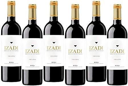 Izadi Vino Tinto - Rioja Alavesa - Seleccionado por Cosecha Privada - Pack 6 Botellas - DO Rioja