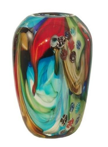 Dale Tiffany Norino Art Glass Bowl (Glass Art Bowl Green)