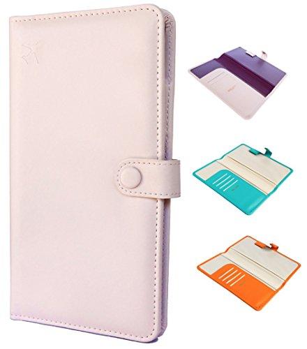 Zaffino Travel Wallet, Passport Holder & Document Organizer - FREE Gift Box