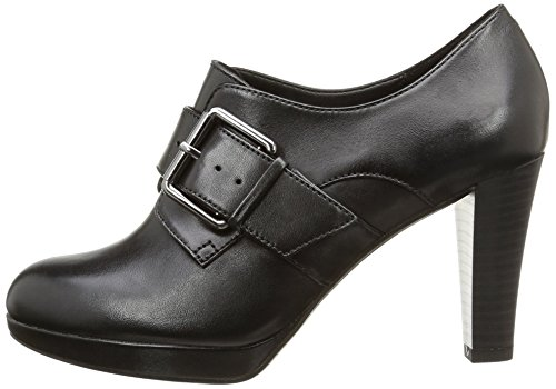 Donna Tacco Scarpe Clarks black Kendra Art Nero Leather Col wOqxSX4