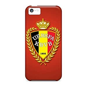 Awesome Design Belgium Football Logo Hard Case Cover For Iphone 5c