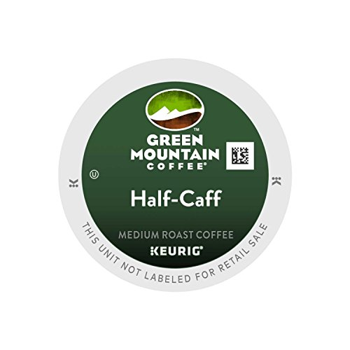 k cups green mountain half caff - 2