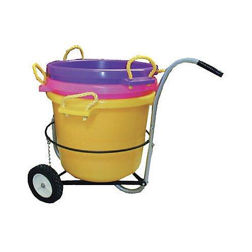 (Intrepid International Muck Bucket Cart)