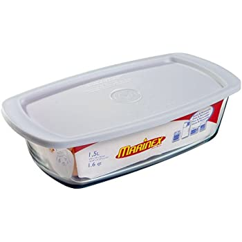 Amazon Com Marinex 1 2 3 Quart Loaf Pan With Plastic